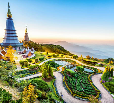 Doi Inthaon National Park Tour