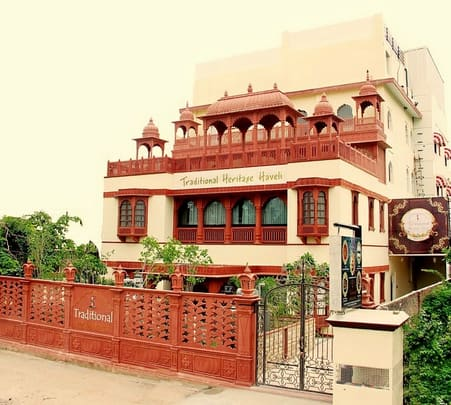 Stay at Traditional Haveli Hotel in Jaipur