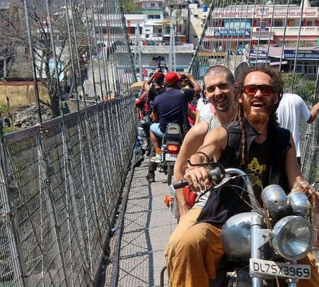 Rent a Motorbike in Rishikesh