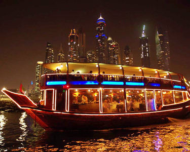 Dhow Dinner Cruise in Dubai Creek - Flat 18% off