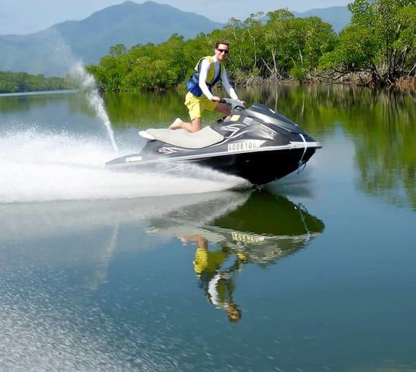 Jet Ski Ride in Cairns