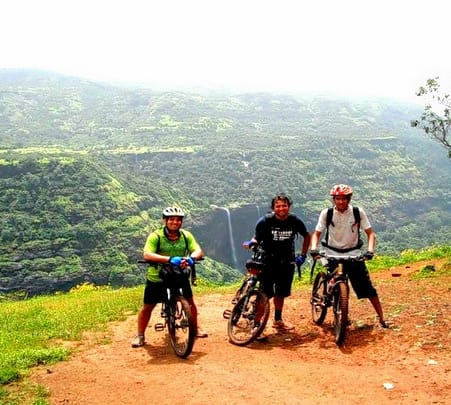 Cycling and Trekking Expedition to Rajmachi Fort