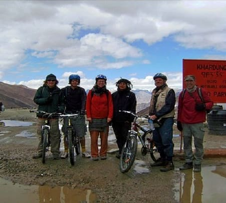 Cycling from Manali to Leh Via Khardung La 2018