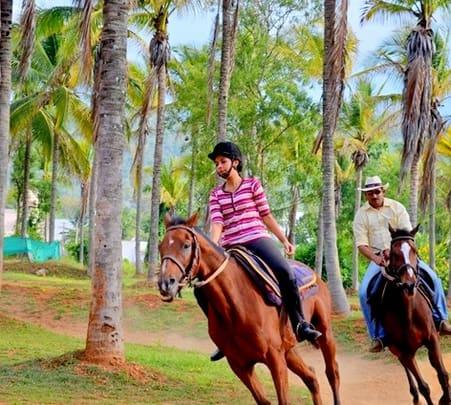 Chamundi Hills Horse Trip, Mysore