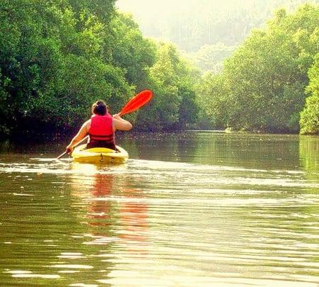 Kayaking Escapade at Mobor Beach