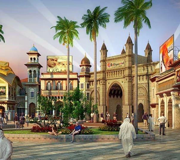 Bollywood Parks Dubai Trip