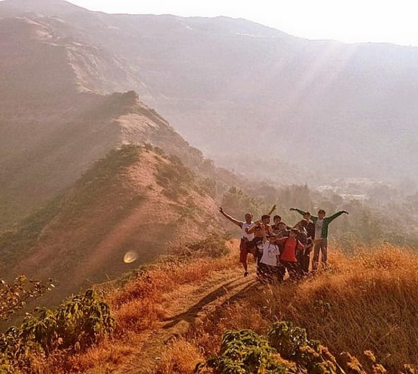 Camping and Caving in Lonavala