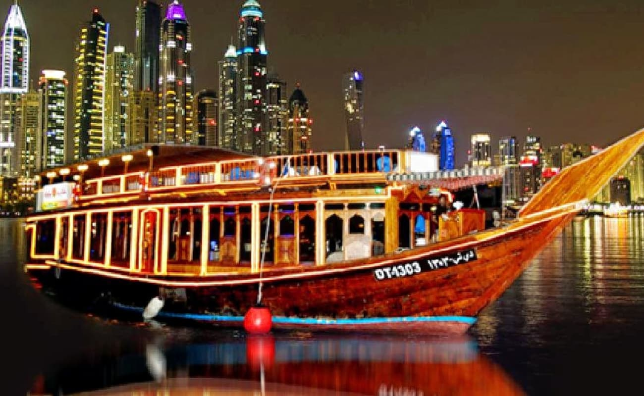 Image result for Dhow dinner cruise creek