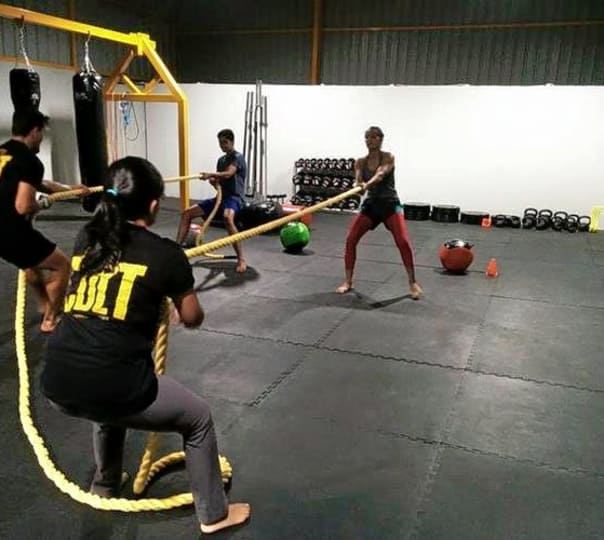 Muay Thai Workout Session