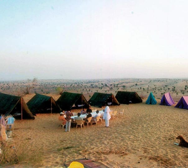 Camel Safari Tour near Bikaner