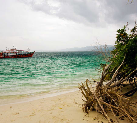 Boat Trip to Jolly Buoy Island, Andamans
