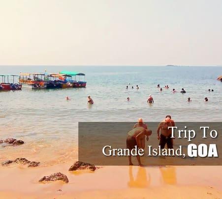 Half Day Trip to Grande Island, Goa