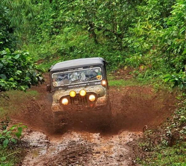 Off Road Jeep Drive To Nishani Hills