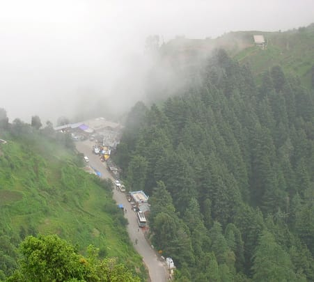 Camping at Kanatal in Mussorie