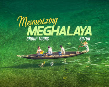 6 Days Tour of Mesmerising Meghalaya