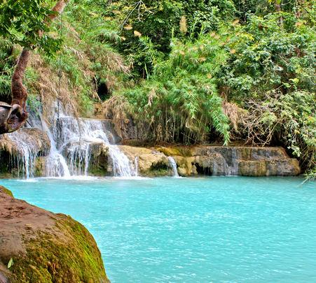 Kuang Si Waterfall Adventure