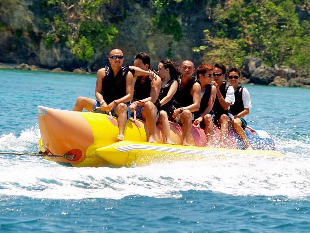 Banana Boat Ride at Tanjung Benoa in Bali