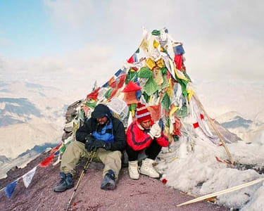 Stok Kangri Trek 2017, Ladakh