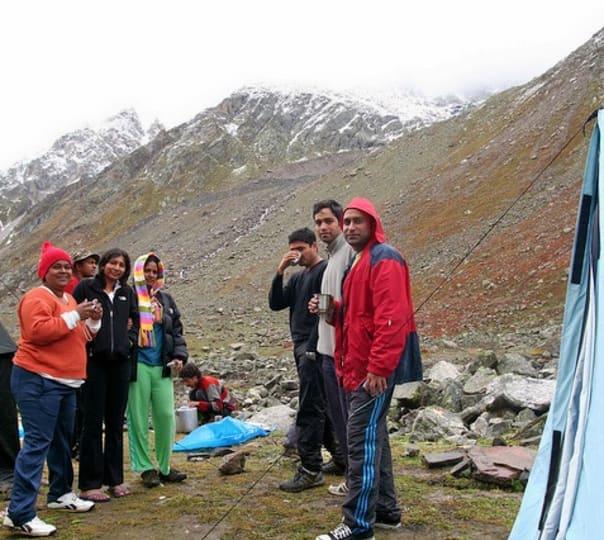 Chandratal Lake Trek with Hampta Pass 2017