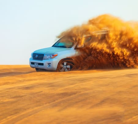 Morning Desert Safari in Dubai - Flat 20% off