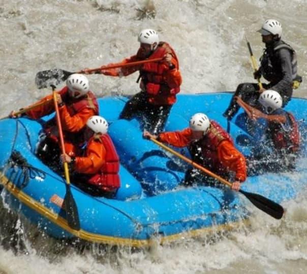 Zanskar River Rafting, Leh 2018