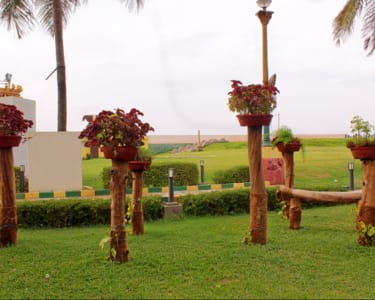 Day Out at V G P Golden Beach Resort Flat 34% Off