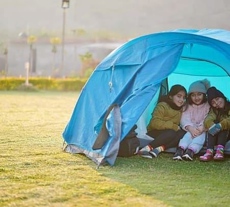 Camping with Multiple Adventure Activities, Gwalior Flat 50% off