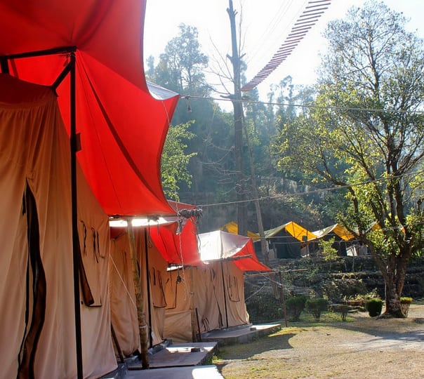 Corporate Team Camping and Bon Fire at Mussoorie
