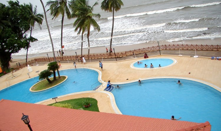 Pamper Yourself With A Lavish Experience Staying At Cidade De Goa Nestled Along Tranquil Beach The Beachfront Resort Takes Inspiration From Latin Culture