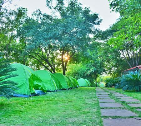 Waterfall Camping at Punjapura, Indore Flat 50% off