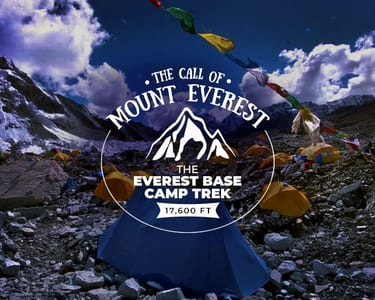 Everest Base Camp Trek, Nepal 2018