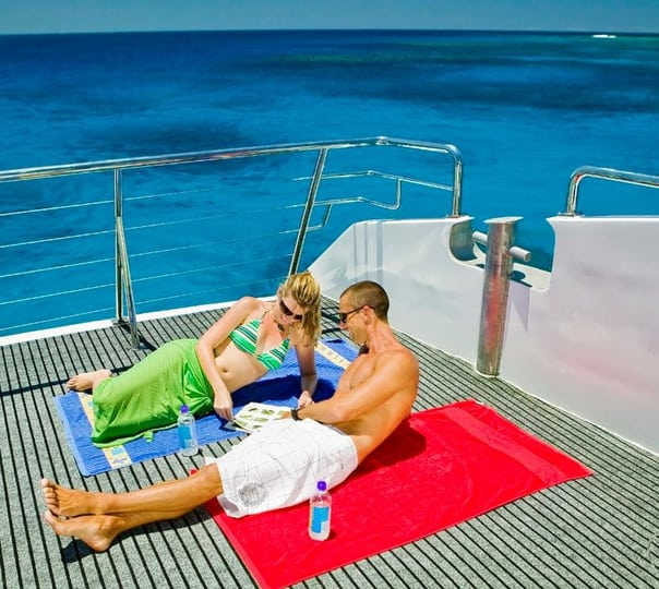 Silverswift Cruise to Outer Great Barrier Reef