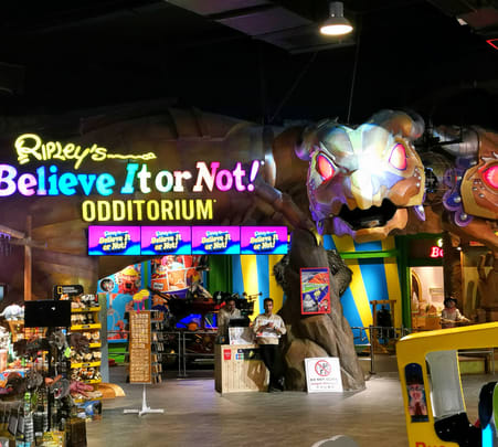Ripley's Adventureland, Jurassic Research Center, 4d Trick Art Museum & Zombie Outbreak Tickets
