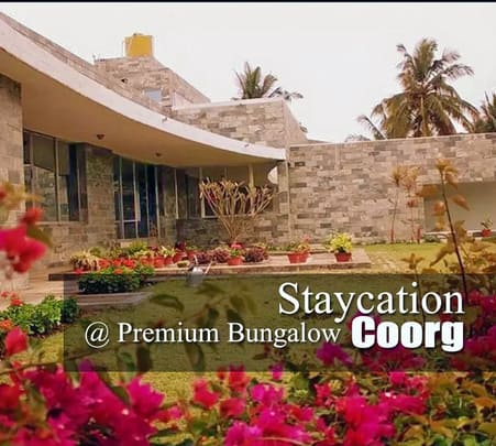 Premium Bungalow Stay in Coorg