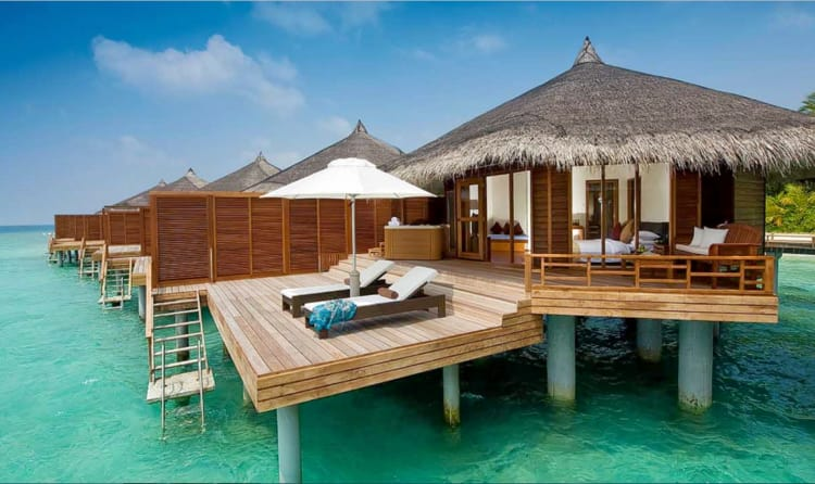 Kanuhara Resort Consists Of A Series Aesthetic Villas Built Over The Sparkling Waters Indian Ocean Designed To Delight