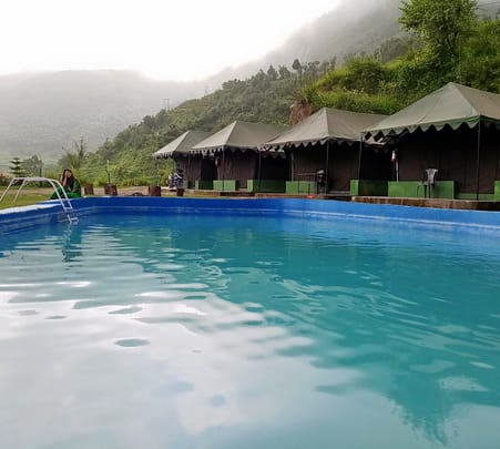 Camping with Swimming Pool near Mussoorie
