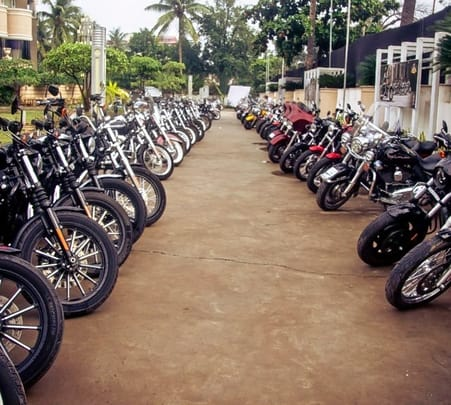 Harley Davidson Ride in Chennai