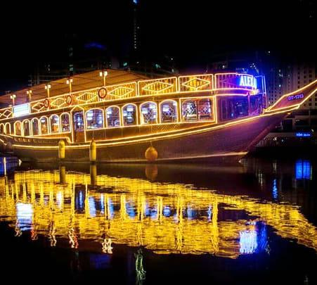Alexandra Dhow Cruise Dubai Marina Flat 15% off