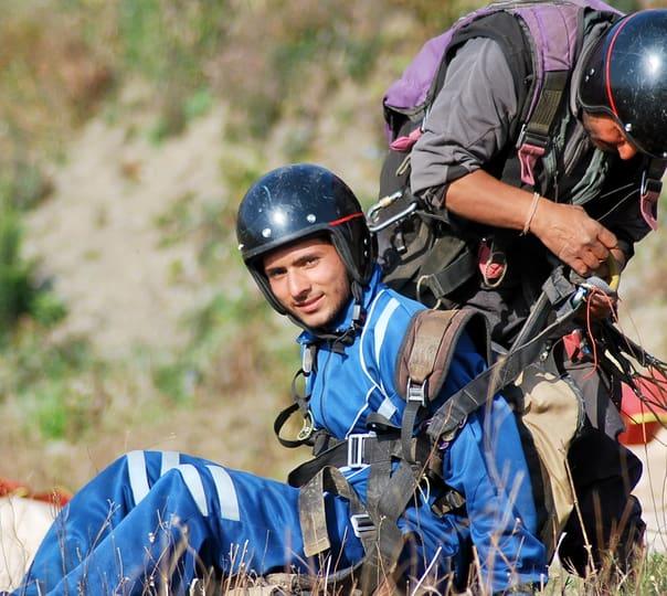 Paragliding at Naukuchiatal