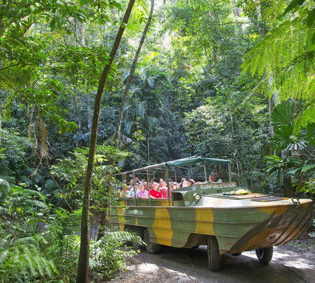 Army Duck Rain Forest Tour in Australia