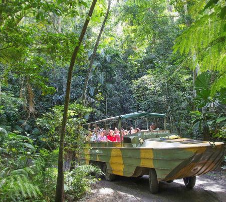 Army Duck Rain Forest Tour in Australia