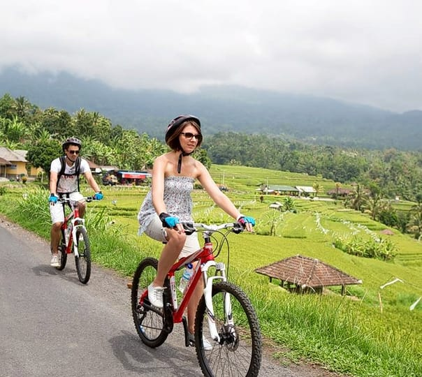 Carangsari Village Cycling at Ubud in Bali