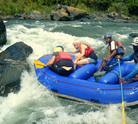 Rafting at Valpoi River in Goa