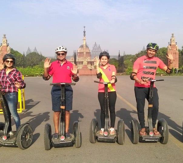 Rajpath Segway Tour, Delhi