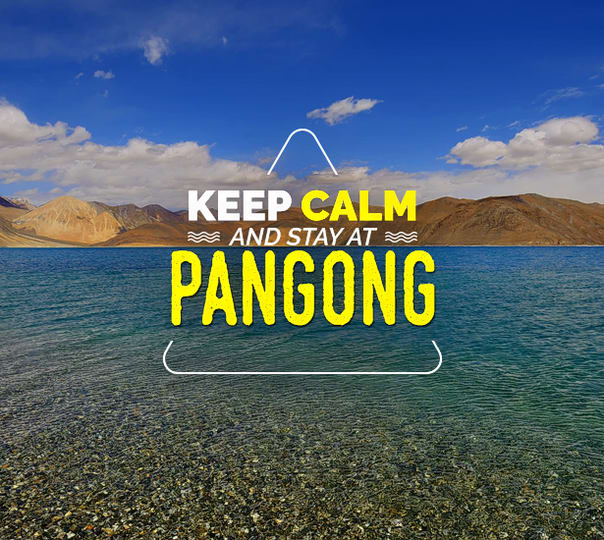 Leh Sightseeing Tour with Stay at Pangong