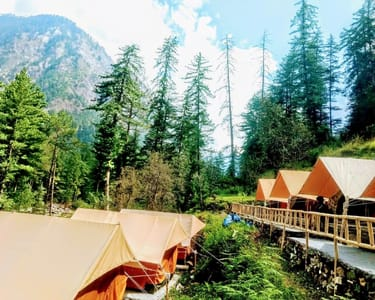 Kasol Riverside Camping Experience Flat 30% off