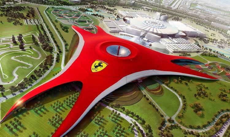 My dream destinations. Ferrari world dubai.