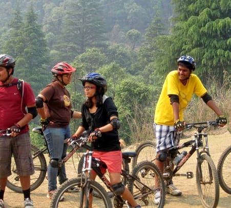 Outdoor Cycling Ride to Vihi Waterfalls , Vihigaon