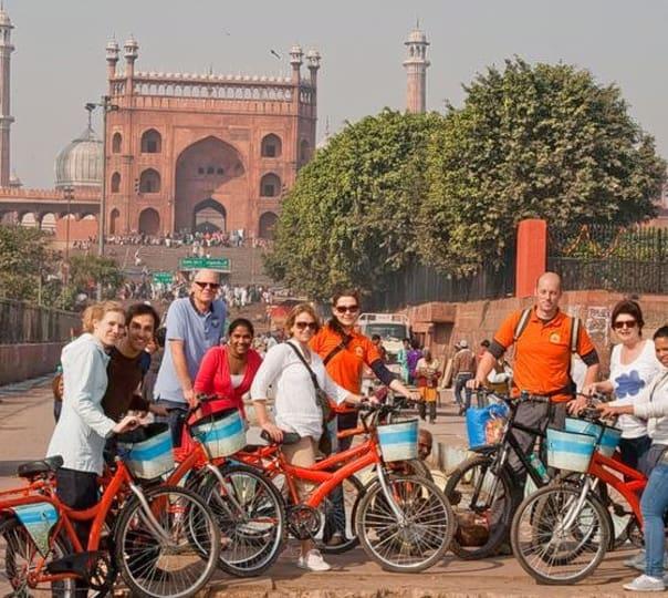 Shah Jahan Bicycle Tour, Old Delhi