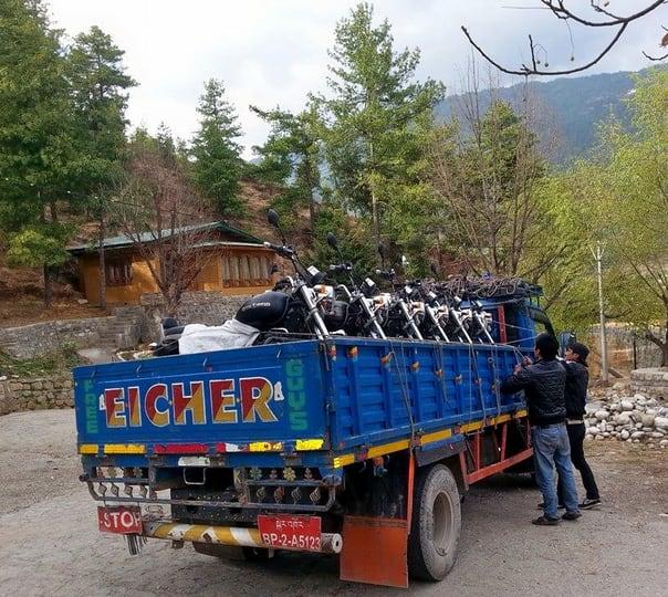 5 Days Biking Tour around Punakha Dzong